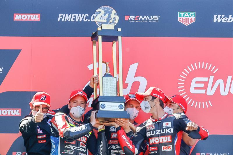 Suzuki remporte la première manche du Championnat du Monde FIM d'Endurance 2021, 24 Heures Motos au Mans